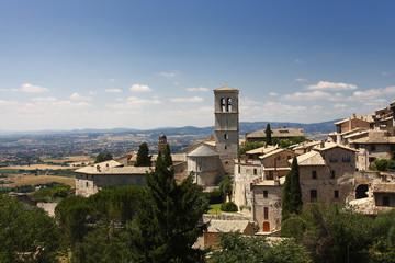 Assisi, veduta della città