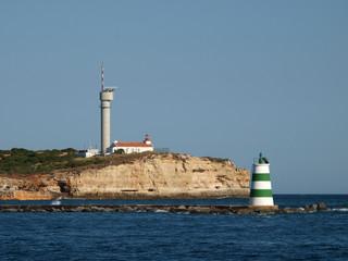 Portimao-resort on the Atlantic coast of the Algarve, Portugal