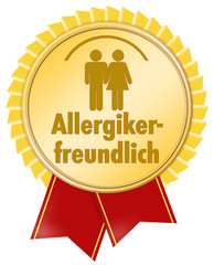 allergikerfreundlich button icon allergie