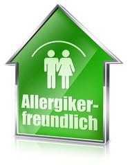 allergikerfreundlich button icon allergie 3d wohnen