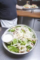 Take out caesar salad