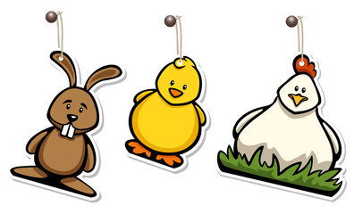 Easter Hangtag Set