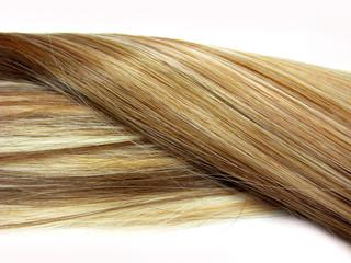 shiny highlight hair wave