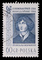 Poland - CIRCA 1964: A stamp - Nicolaus Copernicus