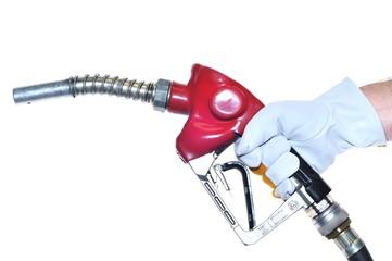 Surtidor de gasolina.