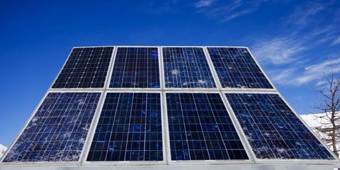 pannelli solari in montagna