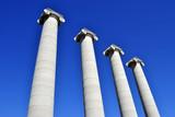 4 columnas de Montjuic (Barcelona) poster