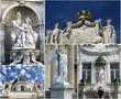 Vienna street statues