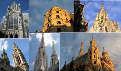 Towers in Vienna