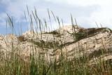 Geological park in Aliaga Teruel province Aragon Spain poster