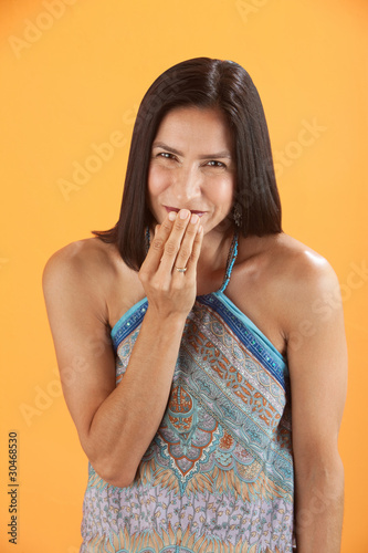 Giggling Woman