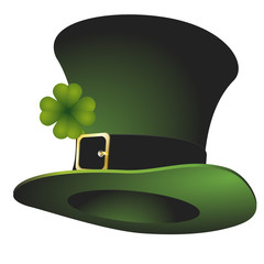 St. Patrick's stovepipe hat
