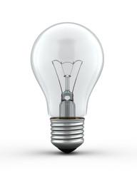 3d render bulb