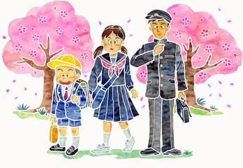 春の入学式