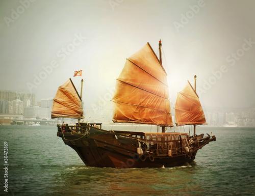 Fototapeten,traditional,chinese,boot,ausschuss