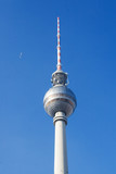 Berlin TV tower. February 2011. poster