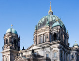 Berlin Cathedral, February 2011, Germany. poster