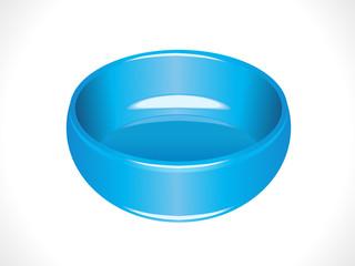 plastic glossy blue tub