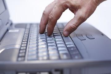 Laptop Nahaufnahme