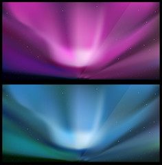 Nothern blue aurora backgrounds.