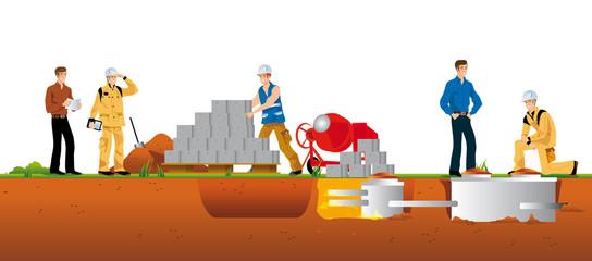 Travaux de constructions