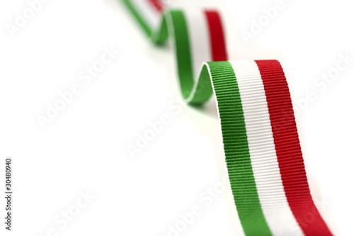 nastro verde bianco rosso - 30480940