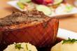 Bayerische Schweinebraten mit Kartoffelknödel