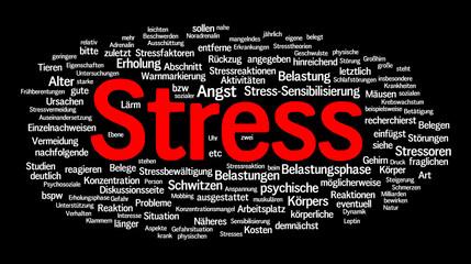 Stress Wolke