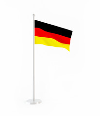 3D flag of Germany