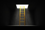 Exit the Dark - Yellow - Golden Ladder to the Light