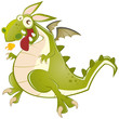drache cartoon lustig