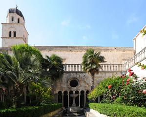 Cloître du Monastère des Franciscains à Dubrovnik