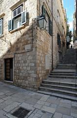 Ville close de Dubrovnik, rue Zlatarska et rue Prijeko