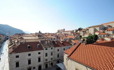Quartier sud de Dubrovnik