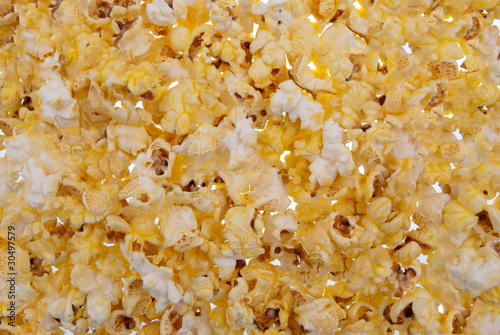 Pop corn for background