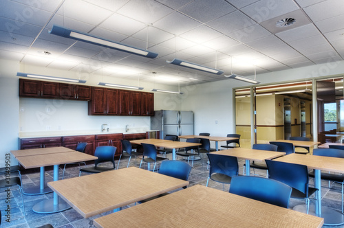 HDR of Break Room