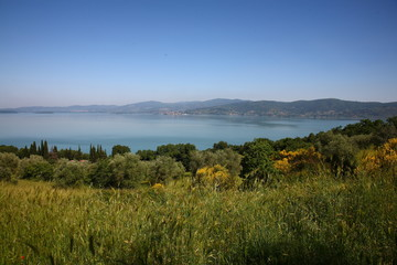Umbria, il lago Trasimeno