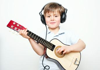 Junger Gitarrengott