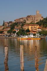 Passignano, cittadina sul lago Trasimeno, Umbria