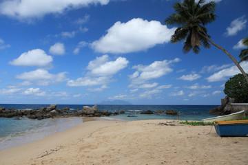 côte des Seychelles à Mahé