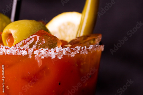 Foto op Canvas Cocktail Bloody Mary