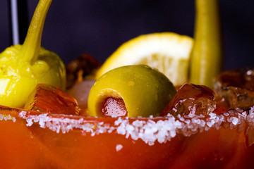 Bloody Mary with Olives