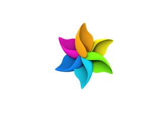 Colored Leaf Flower