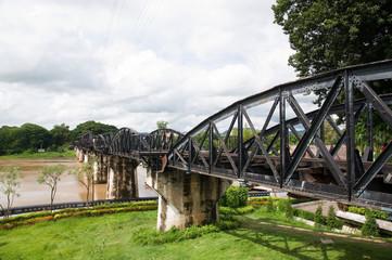 River Kwai Bridge at Kanchanaburi Thailand
