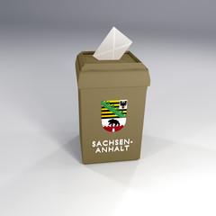 Wahl Sachsen-Anhalt