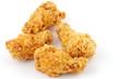 quatre morceaux de poulet frit