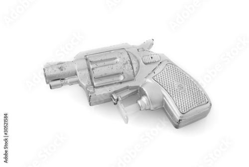 Fake plastic gun