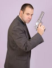 armed man..