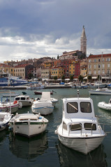 Croatia -  Rovinj - Port and city