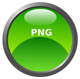 Png glossy icon poster